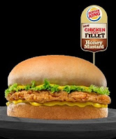 Burger King Chicken Crisp Fillet Sandwich