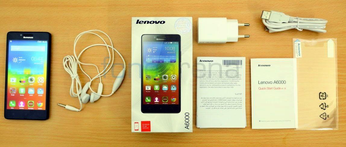 Review Lenovo A6000 Smartphone Terbaru Untuk 4G LTE