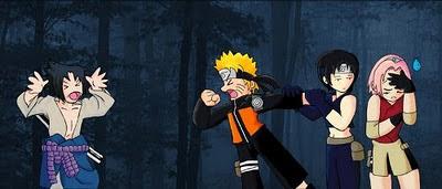 Coisas engraçadas do Naruto