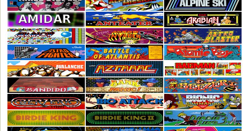 Internet Archive 典藏300+街機遊戲,免模擬器線上玩