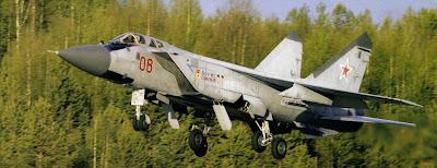 Окраска перехватчика МиГ-31