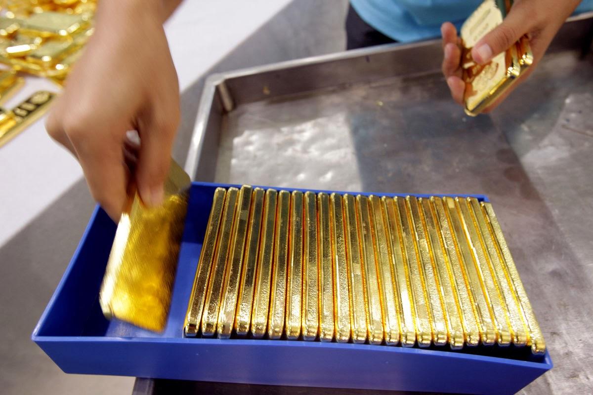 Inteligencia financiera global por qu ha ca do el precio del oro - Cuberterias de plata precios ...