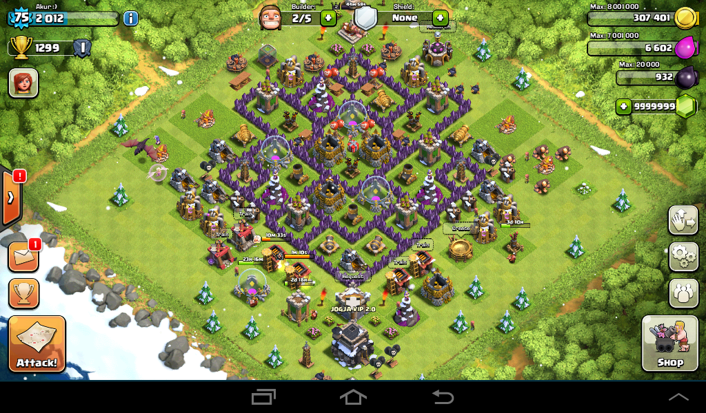 Clash of clans walls of steel 2016 clash of clans defense cheats