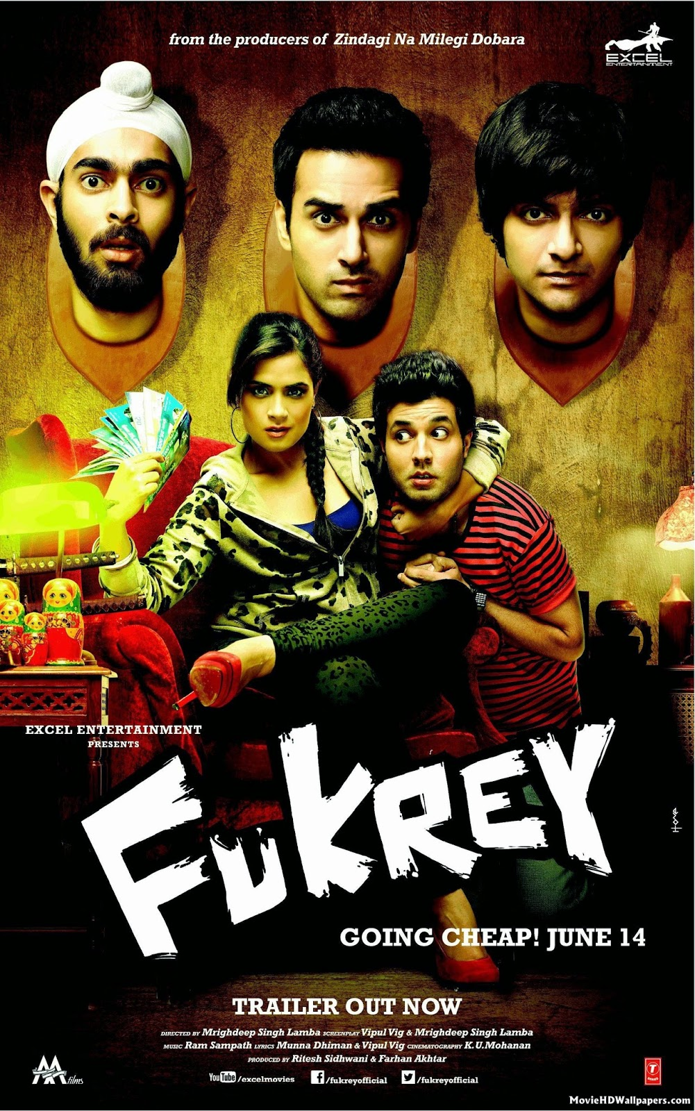 Fukrey (2013) tainies online oipeirates