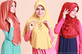 Tutorial Hijab Lebaran 2015