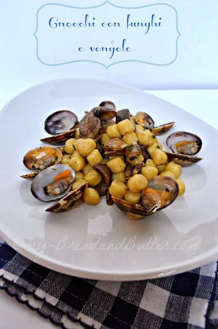 gnocchi di patate terra e mare