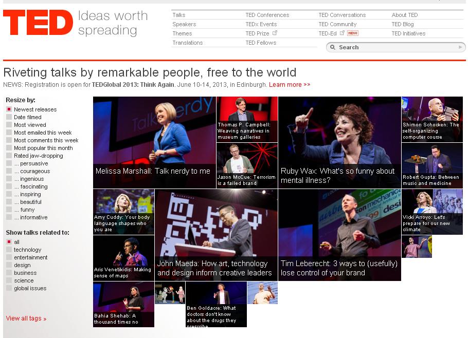 Dos vías para #descargar vídeos de #TED Talks > #TEDinator y Web de ...