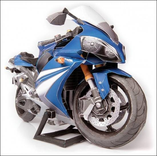 motorsikal-kertas