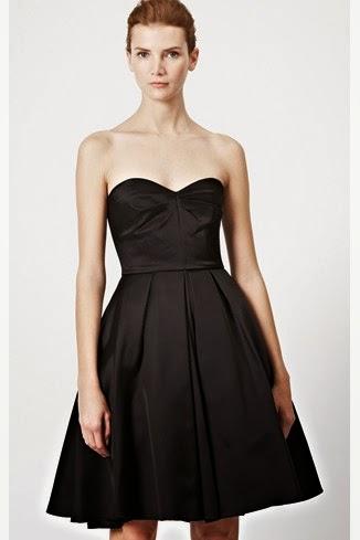 straplez kısa gece elbisesi