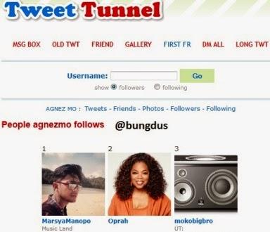 Tweet Tunel Agnezmo
