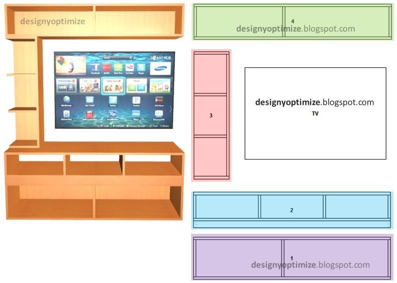 Dise o de muebles madera fabricaci n de mueble moderno - Muebles para tv minimalistas ...
