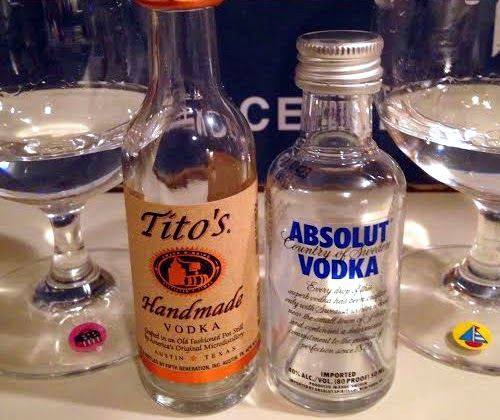 Tito's Handmade Vodka vs. Absolut Vodka
