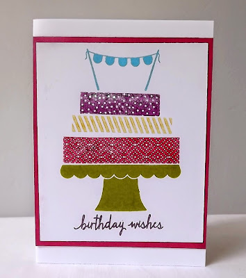 Stampin Up! Build a Birthday