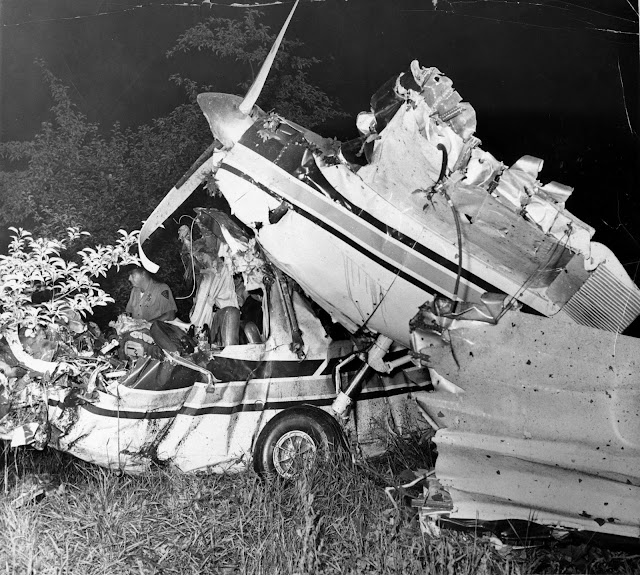 Plane Crash Bodies Photos Ted's plane crash