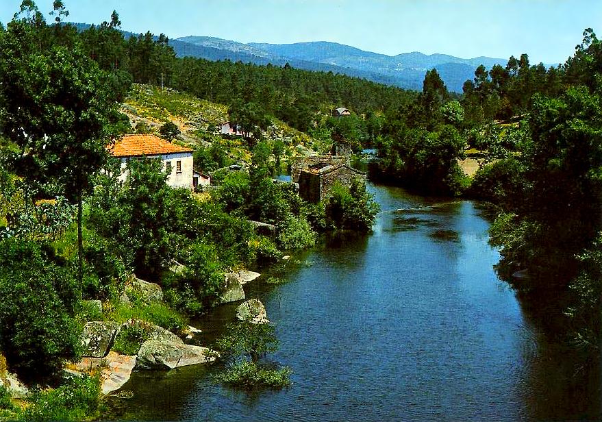 Caldelas Portugal  city photo : Retratos de Portugal: Caldelas Azenha no Rio Homem