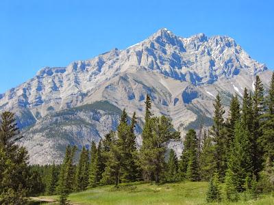 Banff Mountain in Canada