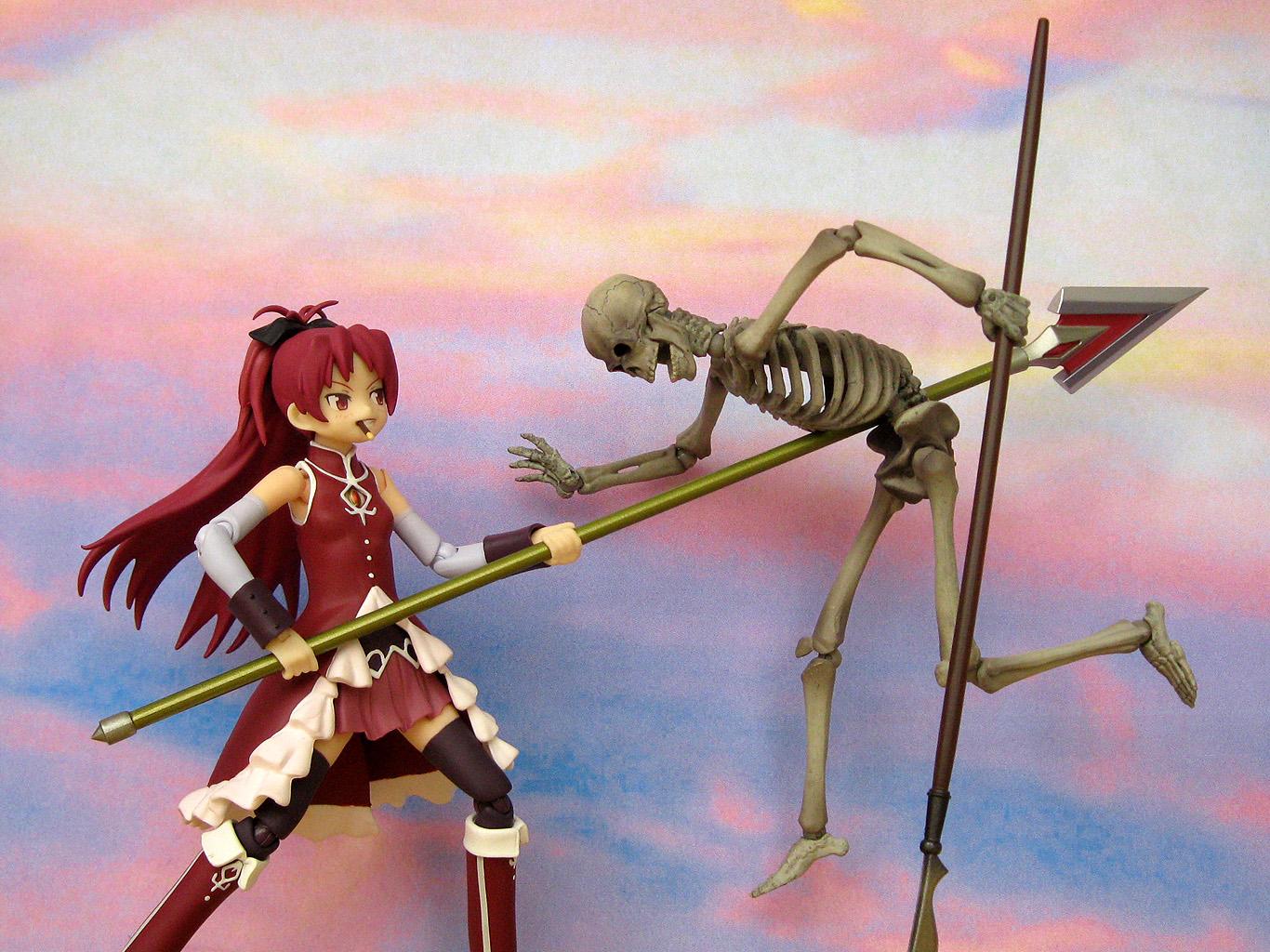 world of klaymore: figma Kyoko Sakura