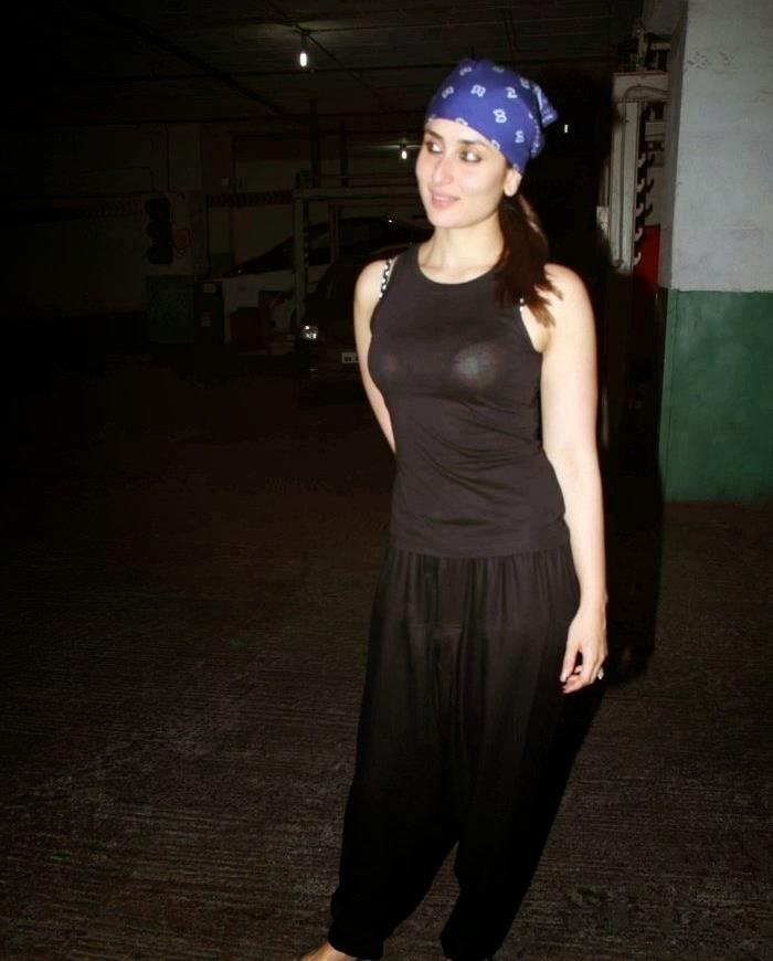 Kareena Kapoor Bra Visible in transparent dress