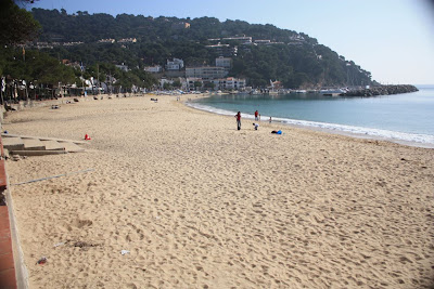 Llafranc Beach in La Costa Brava