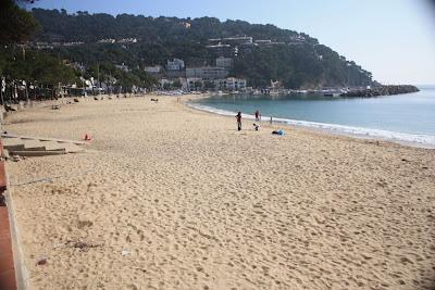 Llafranc Beach in La Costa Brava