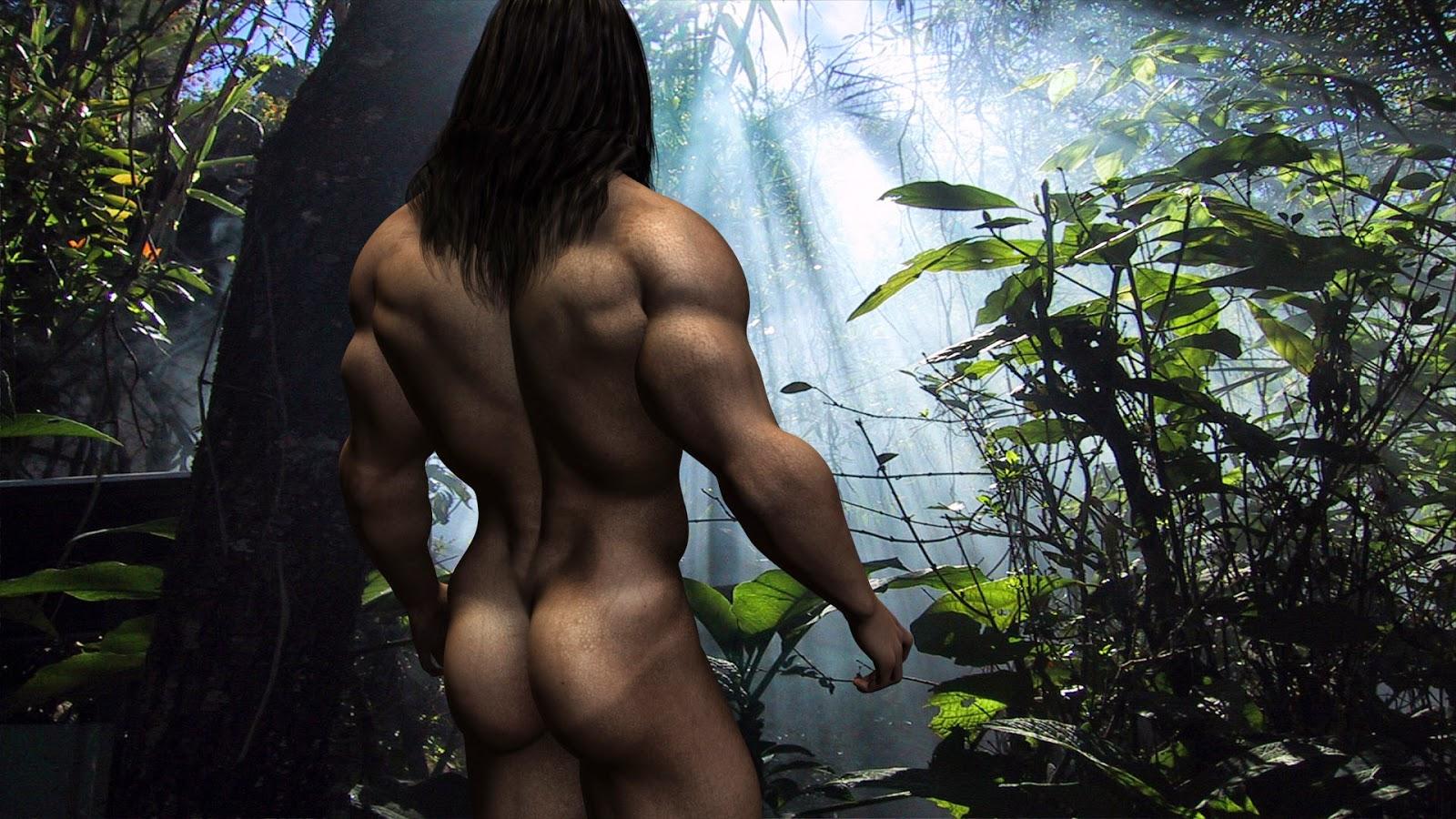 Секс в жунгле на тарзане 7 фотография