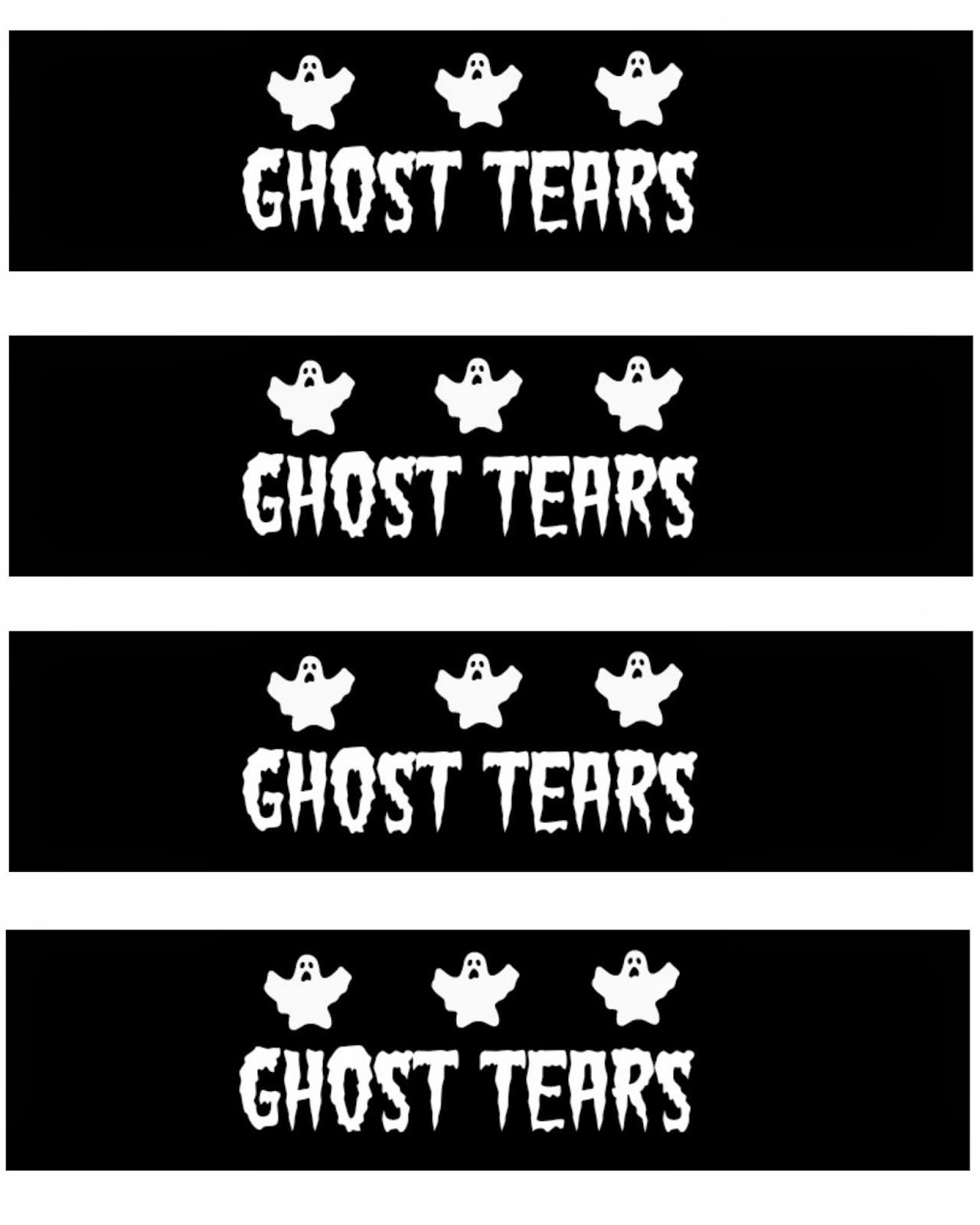 FREE Printable Halloween Water Bottle Labels #SpookySnacks #shop