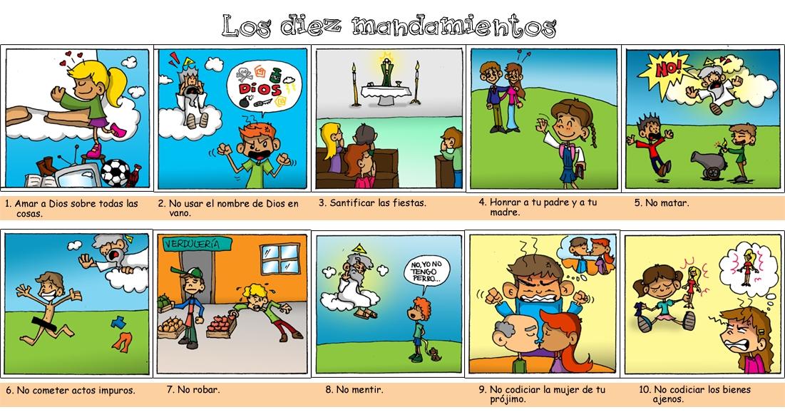 Reliartes los diez mandamientos vi etas - Los 10 locos mandamientos ...
