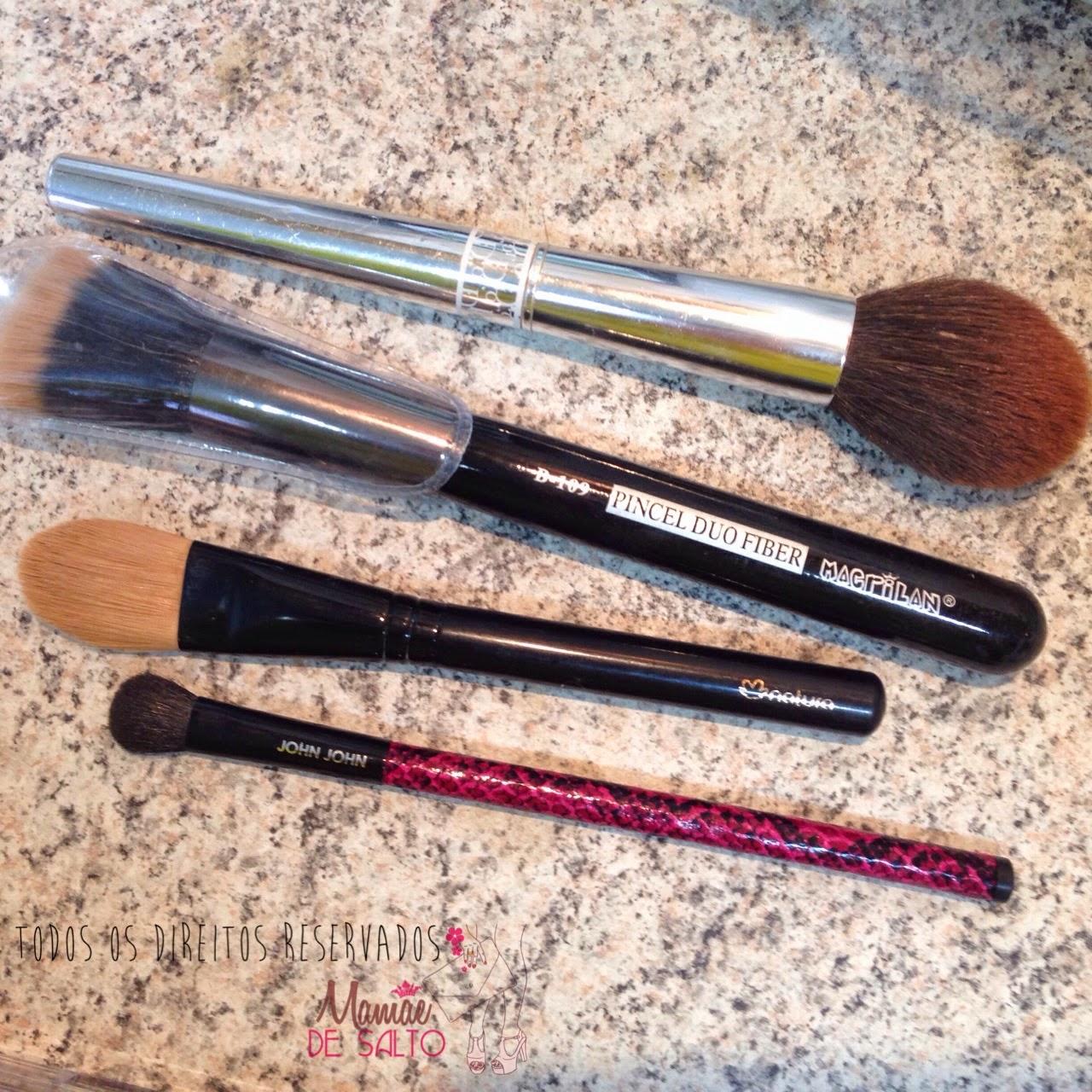 pincéis maquiagem básica da mamãe: dior, macrilan, natura, john john - todos os direitos reservados ao blog Mamãe de Salto