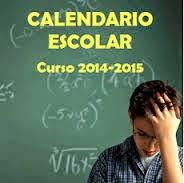CALENDARIO ESCOLAR MÁLAGA 2014/15