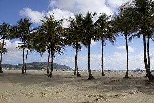 Santos beach