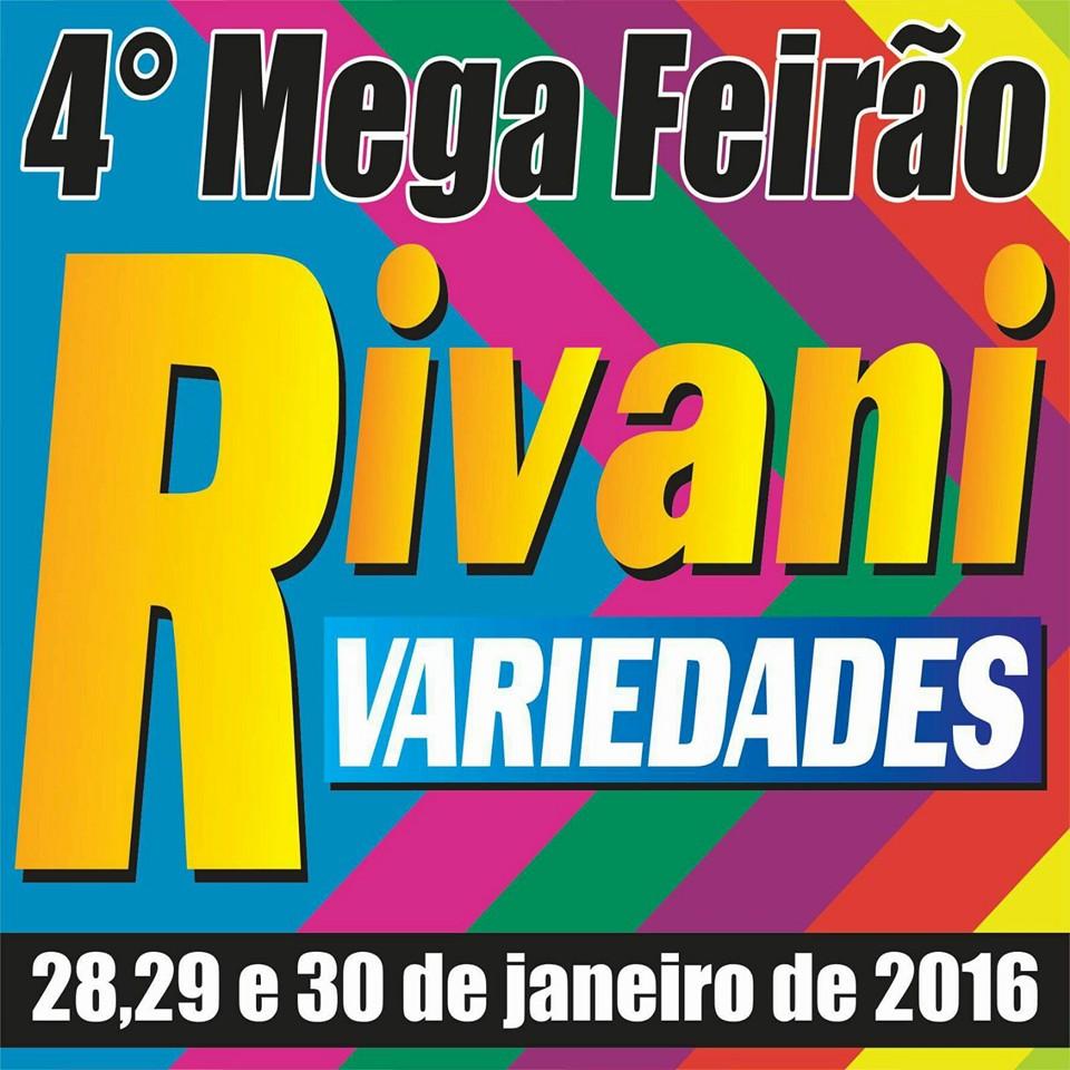 4º MEGA FEIRÃO DE RIVANI VARIEDADES!!!