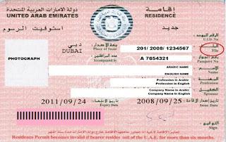 UAE Residence Visa