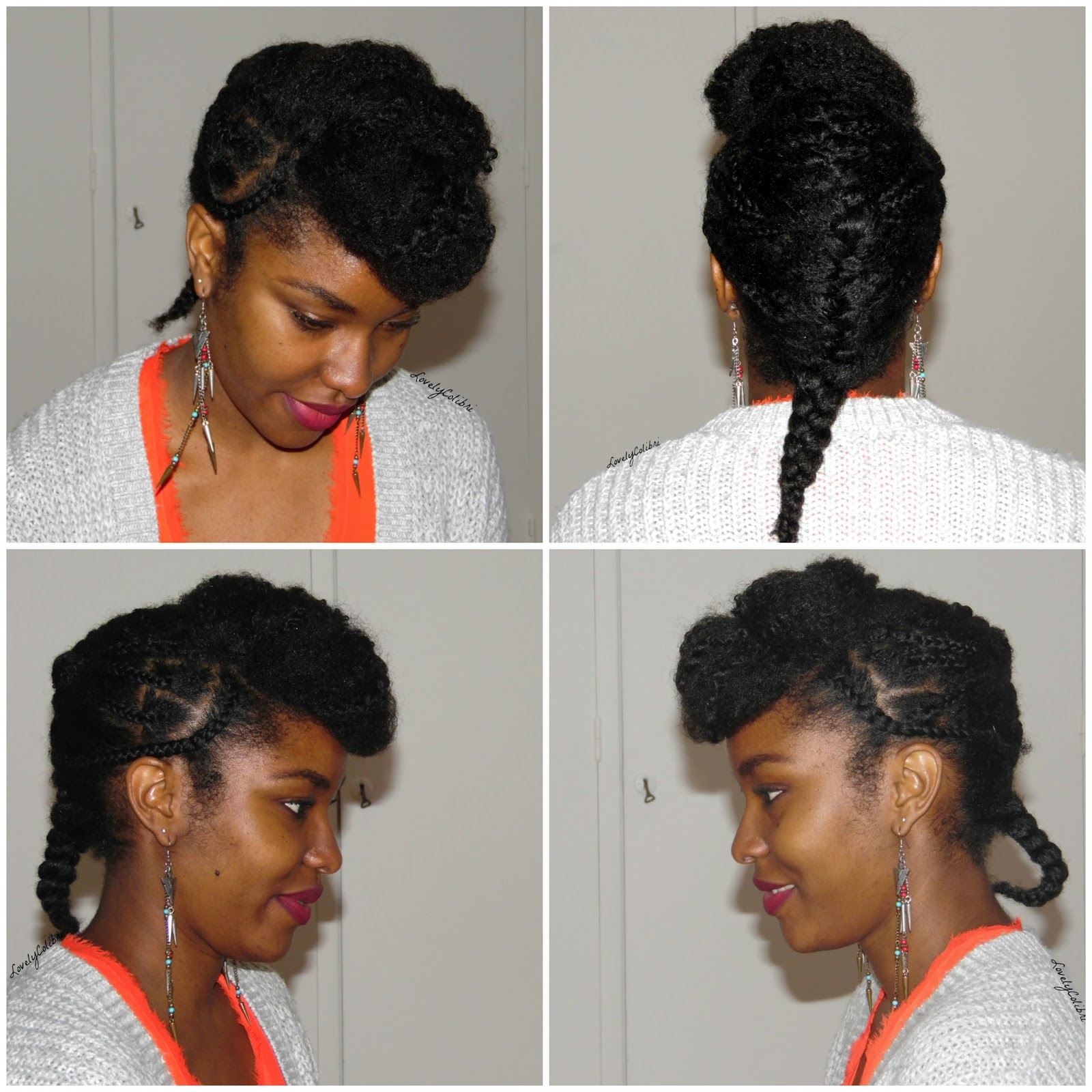 Grosses tresses africaine - Coiffure pour grosse ...
