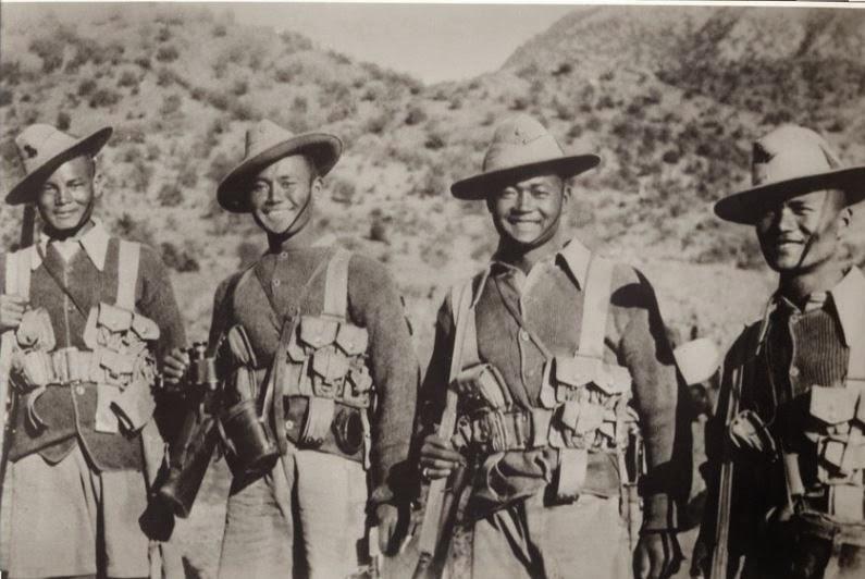Gurkhas (from Gurkha Museum)
