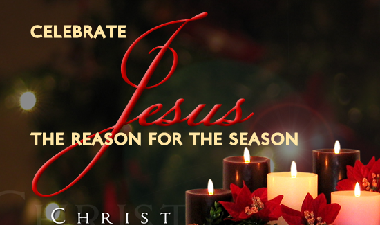 Jesus Is The Reason For The Season Celebrate Jesus The Reason