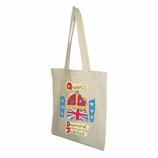 Diamond Jubilee Cotton Shopper