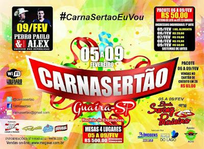 Fotos do Carnasertão Guaira SP 2016 - Carnaval Guaira SP 2016