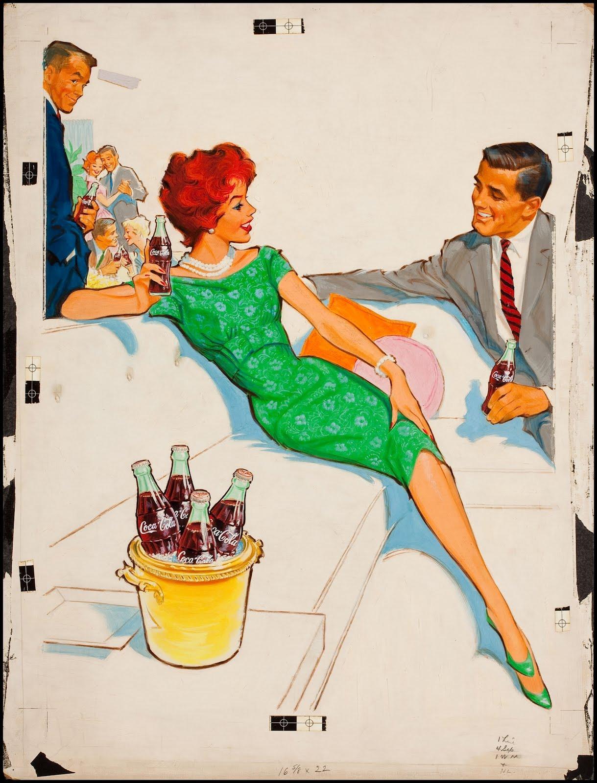fantasy ink coca cola ads by pete hawley. Black Bedroom Furniture Sets. Home Design Ideas