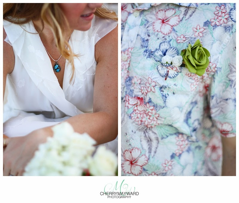 Koh Samui wedding details, brides necklace, grooms button hole flower, green button hole flower, thailand wedding details, intimate wedding ideas, small wedding ideas, small beach wedding ideas, wedding photographer,