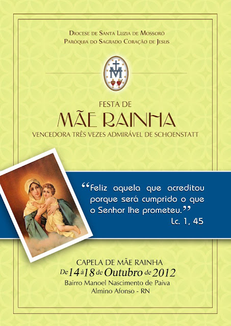 Festa de Mãe Rainha 2012