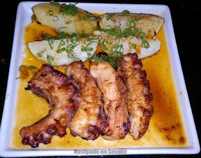 Gattai Restaurante: Polvo com Batata ao Molho de Páprica