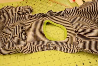 تعليم خياطة فستان