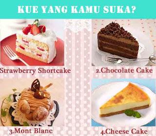 Kue tart, model Kue, bentuk kue tart