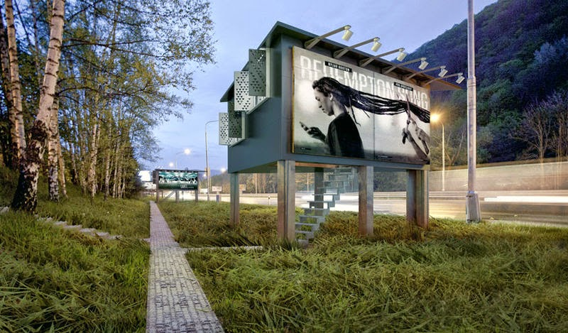 Out of Home International: Billboards for the homeless