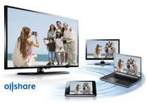 Samsung UN50EH5300 Allshare