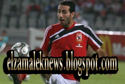 محمد أبوتريكة صانع ألعاب الأهلي المعار لبني ياس الإماراتي
