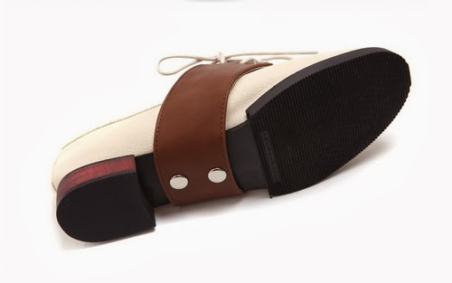 Convertible Faux-leather Loafers