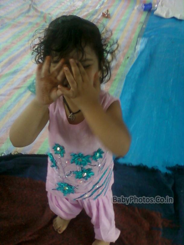 Beautiful indian baby photos 11