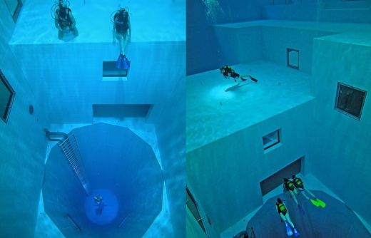 1001archives amazing and rare swimming pools in the world - The volume of water in a swimming pool ...