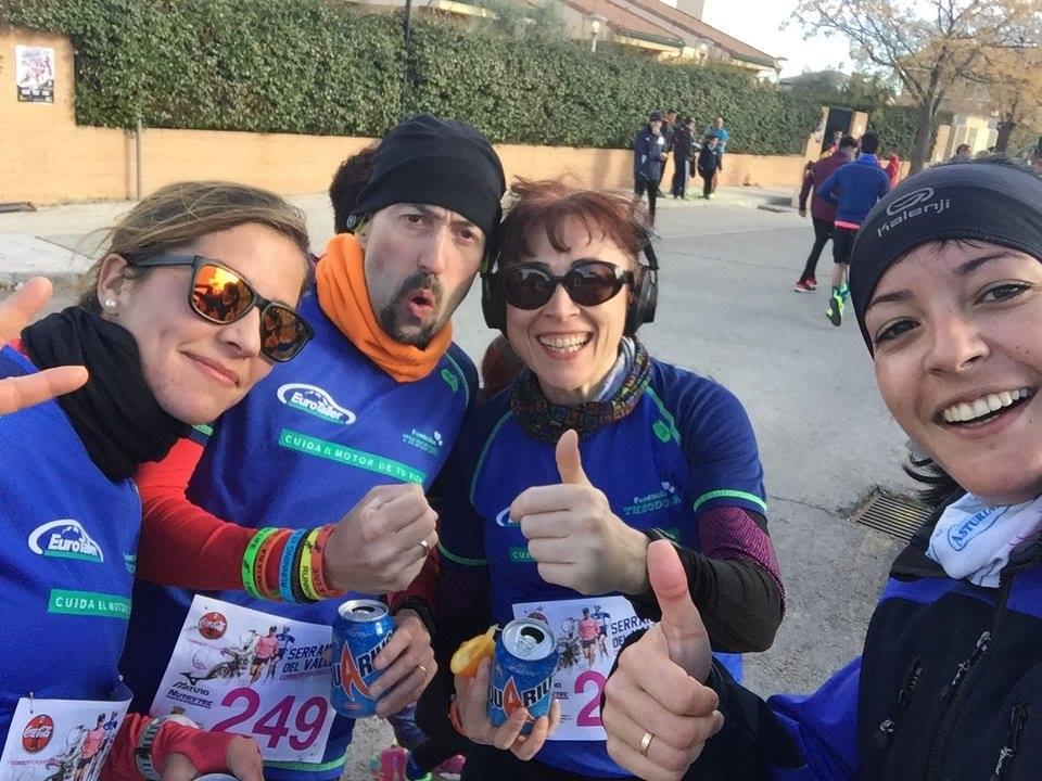 El equipo EuroTaller - Fundación Theodora logra su primer podio en Seranillos del Valle